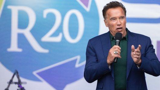 Arnold Schwarzenegger hat VW heftig in die Mangel genommen.