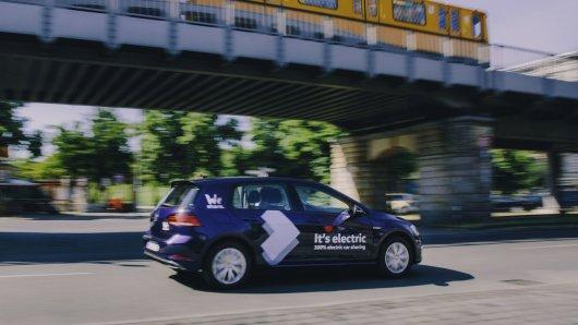VW will  Carsharing-Markt erorbern.