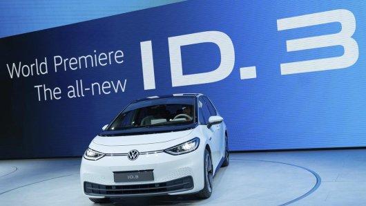 VW präsentiert die Weltpremiere des neuen ID.3 während der Volkswagen Gropu Night auf der 68. Internationalen Automobil Ausstellung IAA in Frankfurt.