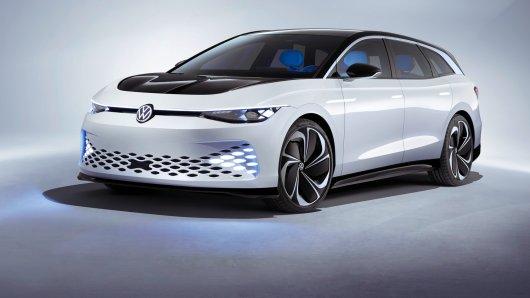 VW ID Space Vizzion: Die Wolfsburger zeigen eine Elektro-Kombi-Studie.