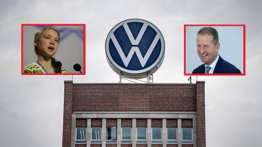 """VW-Chef Diess hat die Top-Manager auf einen """"Systemwechsel"""" eingeschworen. Und der hat auch etwas mit Greta Thunberg zutun."""