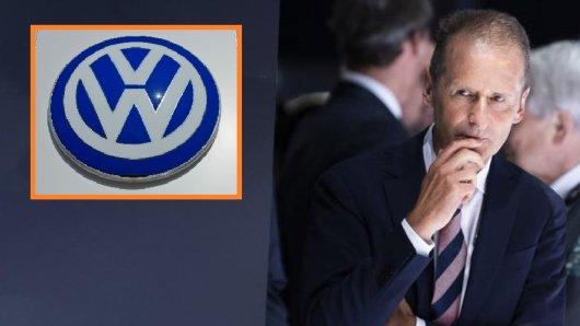 Herbert Diess, Vorstandsvorsitzender der Volkswagen AG, nahm am Donnerstag vor Konzern-Managern kein Blatt vor den Mund.
