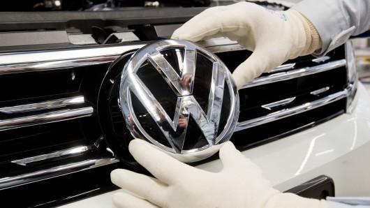 Ein geheimer Schnappschuss ist aufgetaucht. Zeigt er etwas schon den neuen VW Tiguan Facelift? (Archivbild)