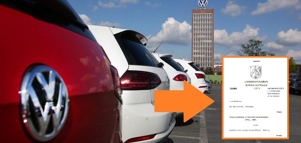 Ein Rechtsspruch aus Duisburg dürfte VW so gar nicht schmecken. (Symbolbild)
