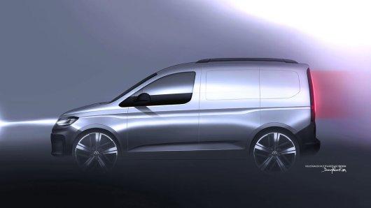 Offiziell vorgestellt wird der neue VW Caddy am 20. Februar.