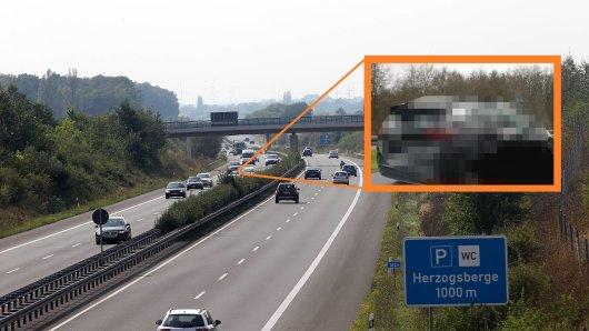 Erwischt! Autofahrer haben jetzt schon dieses beliebte Modell in freier Wildbahn auf der A39 abgelichtet. (Symbolbild/Collage)