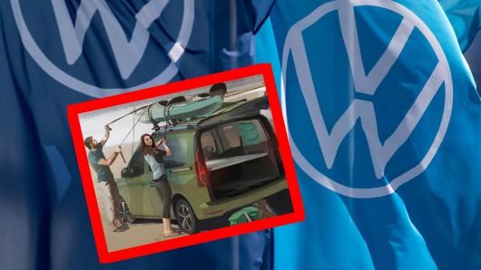 VW lässt eine Bombe platzen und zeigt die ersten Bilder des neuen Mini-Camper.