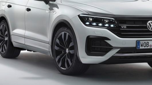 """Der Touareg V8 """"Last Edition"""" von VW. Ab dem 17. August kannst du ihn dir schnappen. Du musst dich aber beeilen..."""