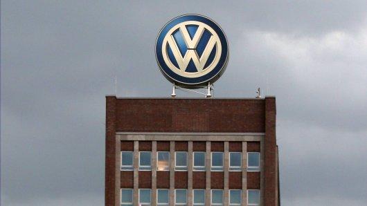Über VW braut sich einiges zusammen. (Symbolbild)