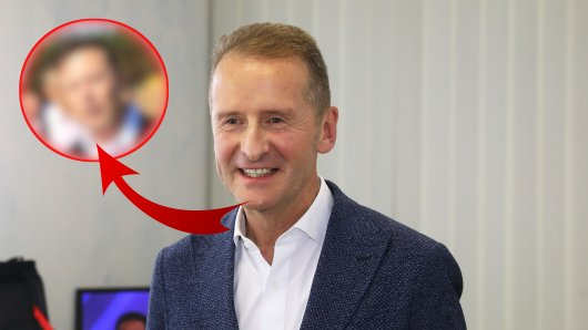 VW-Chef Herbert Diess bekam am Donnerstag hohen Besuch!