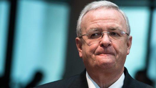 Ex-VW-Chef Martin Winterkorn muss sich in Braunschweig vor Gericht verantworten. Allerdings scheint er schwer erkrankt zu sein... (Archivbild)