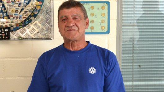 VW-Mitarbeiter Waldemar Melhaff will seine Sammlungen versteigern.
