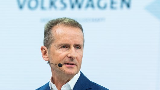 VW-Chef Herbert Diess hat sich zur Corona-Krise geäußert. Seine Aussage überrascht. (Archivbild)