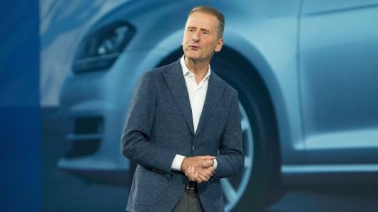 VW-Chef Herbert Diess hat sich zu staatlichen Kaufprämien geäußert. Seine Aussage überrascht. (Archivbild)