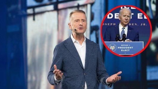 VW könnte unmittelbar von Joe Bidens Wahlsieg profitieren. (Symbolbild)