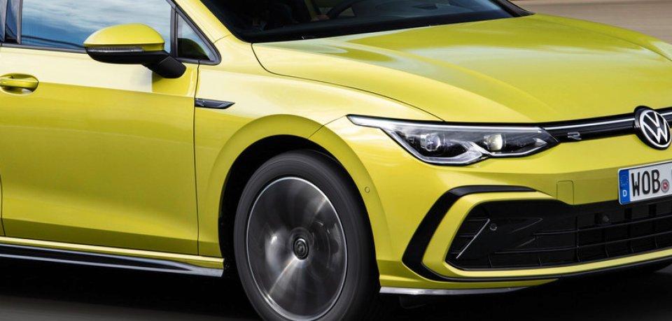 So sieht der neue VW Golf Variant R-Line aus.