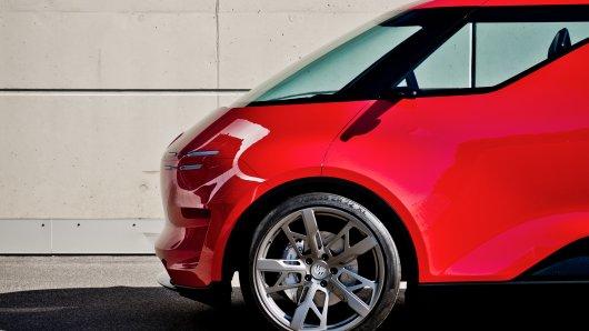 Porsche entwickelt immer wieder Visionen, die es so gar nicht auf den Markt schaffen. Wie zum Beispiel diese Vision...