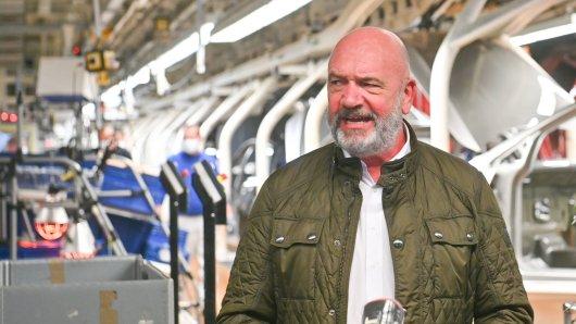 VW-Betriebsratschef Bernd Osterloh sieht im neuen Jahr einige Probleme auf den Konzern zu kommen. (Archivbild)