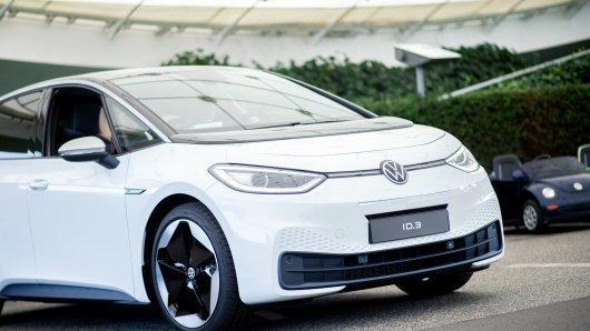 Der ID.3 ist ein Vorzeigeauto von VW. (Symbolbild)