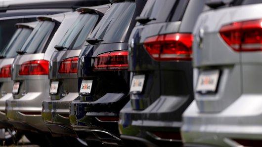 VW hat ziemlich viele Autos im März verkauft. (Symbolbild)