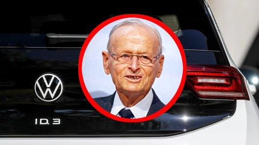VW Ex-Boss Hahn hat den ID.3 getestet – sein Urteil ist eindeutig. (Montage)