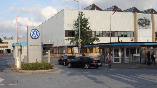 Das VW Werk in Braunschweig. (Archivbild)
