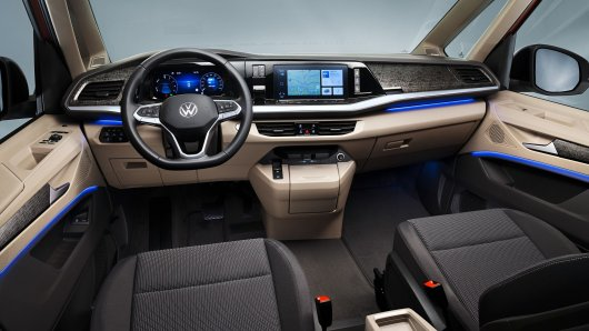 So sieht der neue VW von innen aus.