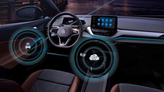 Das erste Over-the-Air Update für die VW ID. Modelle kommt noch in diesem Monat.