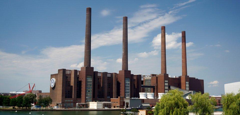 Das VW-Werk in Wolfsburg.