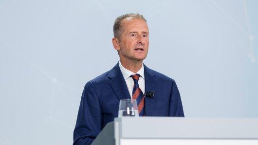 VW-Boss Herbert Diess hat ein Machtwort gesprochen.