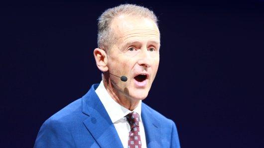 VW-Chef Diess hat Anzeige gegen Unbekannt erstattet.