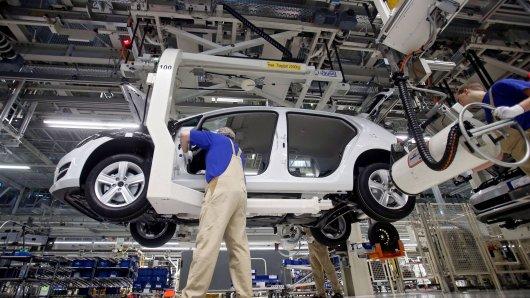 Was ist der häufigste Grund für Kündigungen bei VW? Das geht jetzt aus einer Statistik hervor. (Symbolbild)