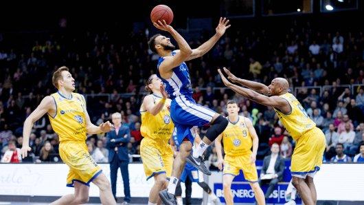 Die Basketball Löwen Braunschweig verlieren in Frankfurt.