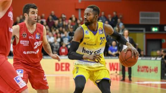 Die Basketball Löwen unterliegen bei den Giessen 46ers.
