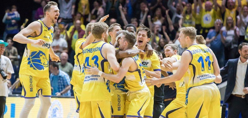 Die Basketball Löwen Braunschweig haben es doch noch geschafft und stehen nach langer Zeit mal wieder in den Playoffs!