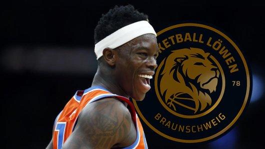 Dennis Schröder hat den Basketball Löwen Braunschweig ein neues Logo verpasst.