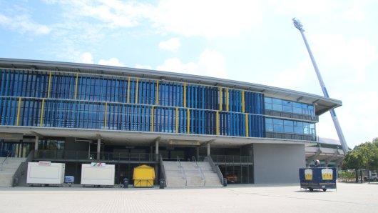 Das Eintracht Stadion (Archivbild).