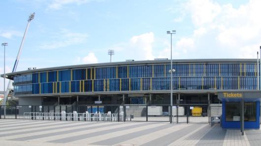 Das Eintracht-Stadion ist der zentrale Anlaufpunkt für die 3.000-Aktion (Archivbild).