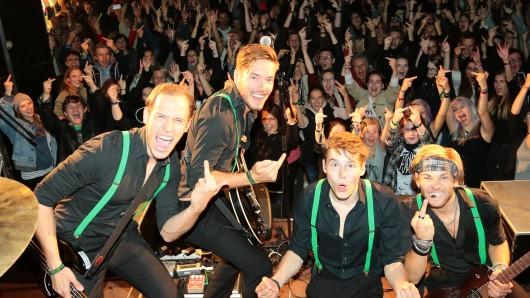 Die Vechelder Band The Esprits haben sich angekündigt (Archivbild).