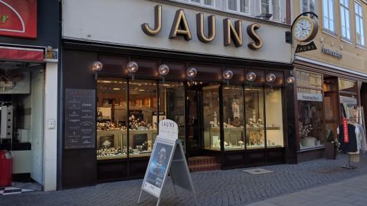 Der Tatort: Das Juweliergeschäft Jauns in Braunschweig.