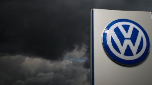 Dunkle Wolken über VW