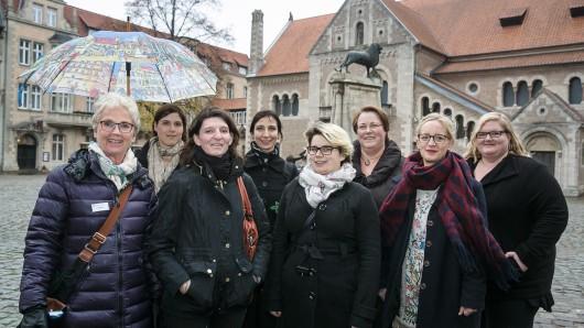 Diese sieben Bloggerinnen sind auf Erkundungstour in Braunschweig.