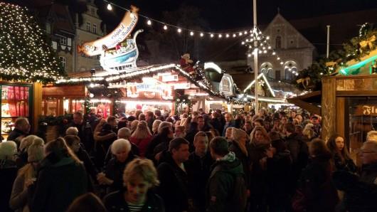Der Braunschweiger Weihnachtsmarkt 2016 ist eröffnet.