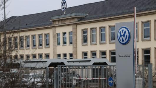 Das VW-Werk in Braunschweig. (Archivbild)