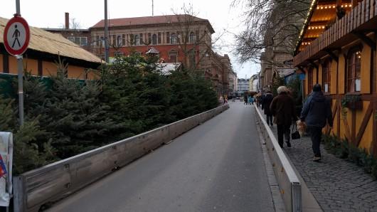 So wird es in der nächsten Woche auf der Münzstraße aussehen. (Archivbild)