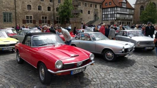 Rund 90 Wagen gab es zu bestaunen.