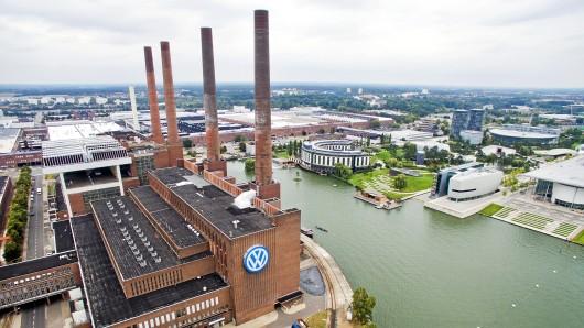 Das VW-Werk Wolfsburg.