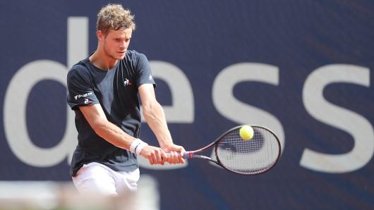 Yannick Hanfmann steht im Halbfinale in Braunschweig.