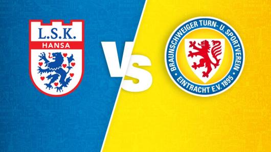 Eintracht Braunschweig trifft am 15. August, auf den Regionalligisten  Lüneburger LSK Hansa.