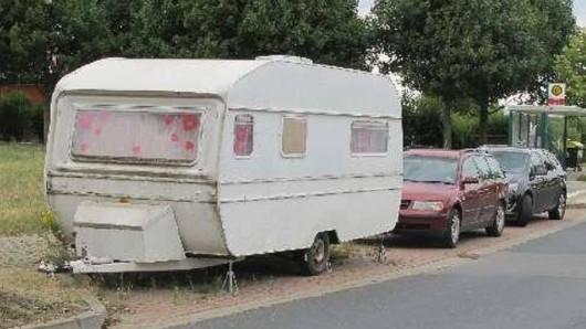 Dieser Wohnwagen sollte zweckentfremdet werden.